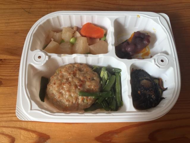 ウェルネスダイニング 豆腐ハンバーグ2