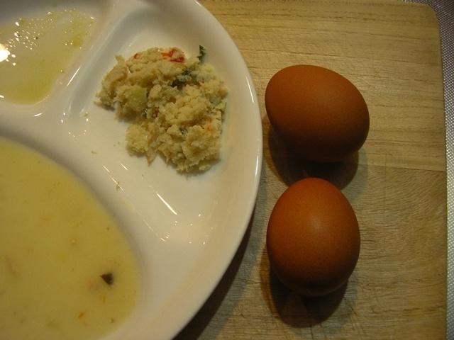 ウェルネスダイニング 鶏肉と野菜のクリームソース12