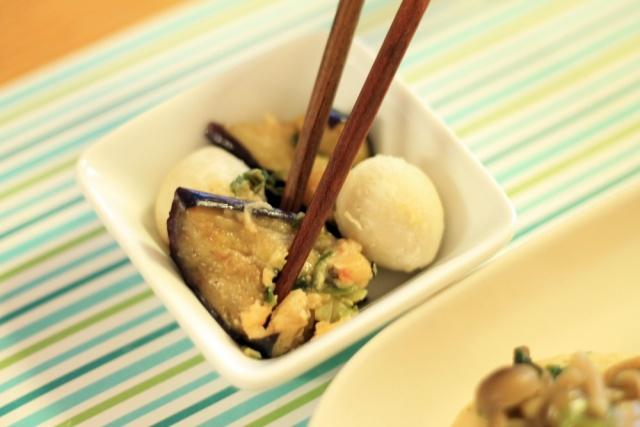 おまかせ健康三彩 豆腐ハンバーグきのこソース9