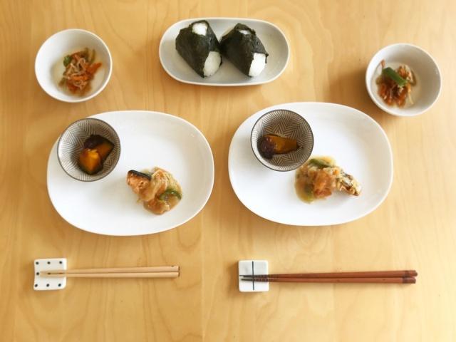 おまかせ健康三彩 鮭のチャンチャン焼き8