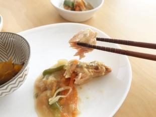 おまかせ健康三彩 鮭のチャンチャン焼き18