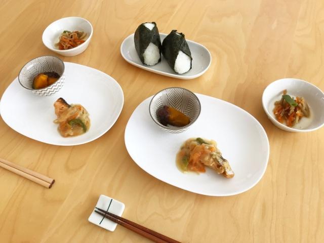 おまかせ健康三彩 鮭のチャンチャン焼き19