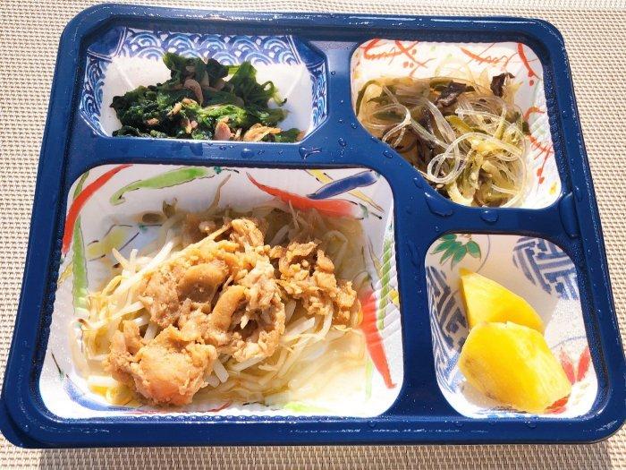 メディカルフードサービス 豚肉のサムジャン炒め4