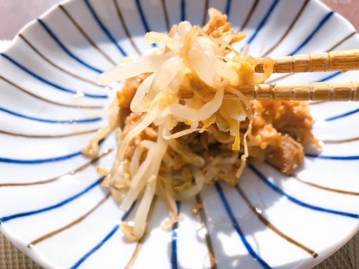 メディカルフードサービス 豚肉のサムジャン炒め13