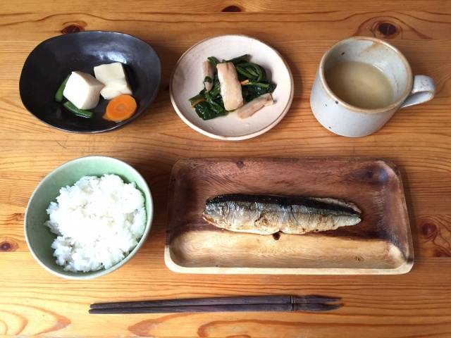わんまいる 秋刀魚の塩焼き8
