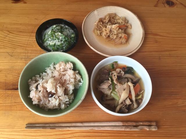 わんまいる 冬野菜のすき焼き風4