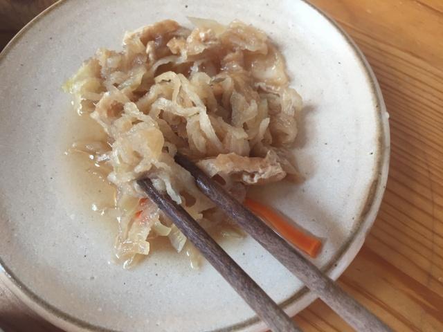 わんまいる 冬野菜のすき焼き風8