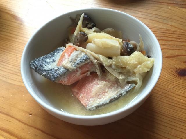 わんまいる 鮭の石狩煮5