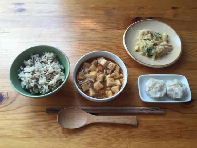 わんまいる 麻婆豆腐と焼売7