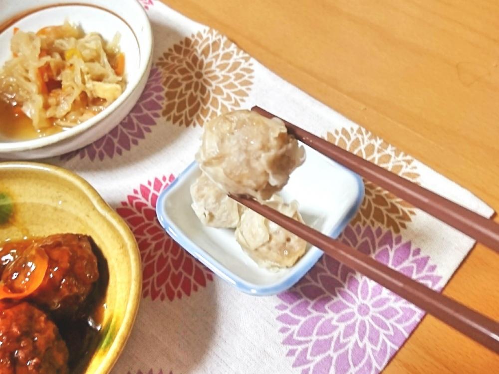 わんまいる 玉ねぎと肉団子の甘酢あんかけ19
