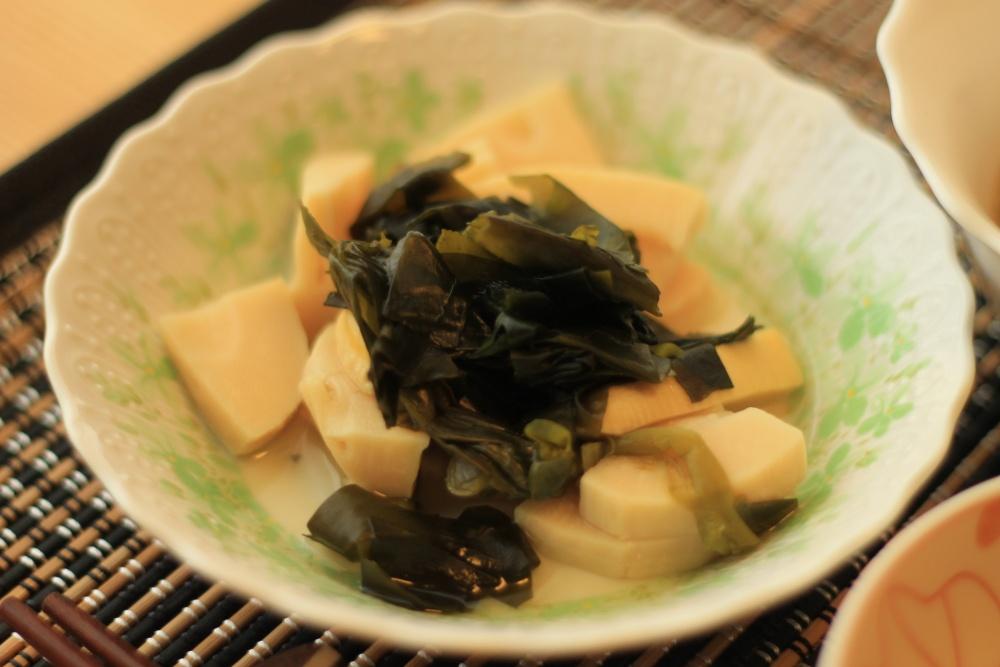 わんまいる 国産筍とわかめの煮物10