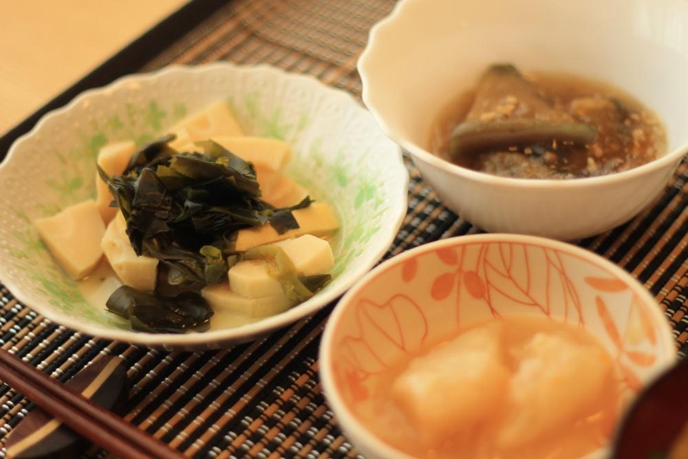 わんまいる 国産筍とわかめの煮物18
