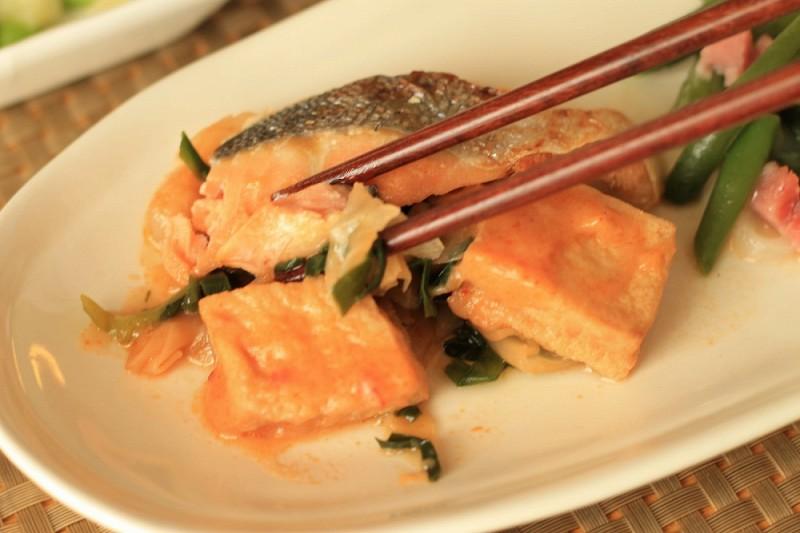 食宅便 鮭の豆乳チゲ19