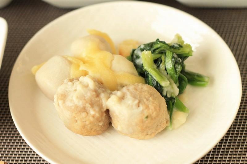 食宅便 里芋と肉団子の豆乳チーズ8