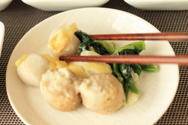 食宅便 里芋と肉団子の豆乳チーズ9