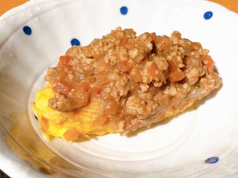 ウェルネスダイニング 肉味噌オムレツ7
